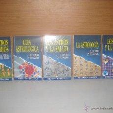 Libros de segunda mano: BIBLIOTECA PRÁCTICA ASTROLOGIA Nº 1,2,4,5,6,. Lote 49574012
