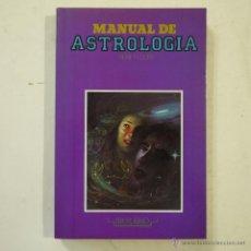 Libros de segunda mano - MANUAL DE ASTROLOGÍA - RENE FLEURY - EDITORS S.A. - 1990 - 49722808