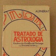 Libros de segunda mano: TRATADO DE ASTROLOGIA. Lote 51063987