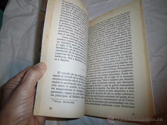 Libros de segunda mano: ASTROLOGIA Y RELIGION EN EL MUNDO GRECORROMANO.FRANZ CUMANT.EDICOMUNICACION 1989 - Foto 4 - 51421114