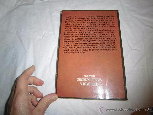 Libros de segunda mano: ASTROLOGIA Y RELIGION EN EL MUNDO GRECORROMANO.FRANZ CUMANT.EDICOMUNICACION 1989 - Foto 5 - 51421114