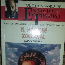 Libros de segunda mano: EL HOMBRE ZODIACAL. AUTOR CARMEN GOIZUETA. Lote 51731160