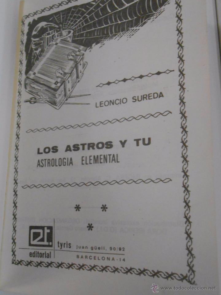 Libros de segunda mano: LOS ASTROS Y TÚ. (ASTROLOGÍA ELEMENTAL). SUREDA, LEONCIO. TDK183 - Foto 3 - 52880230