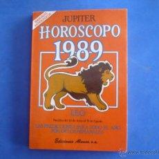 Libros de segunda mano: LIBRO - HORÓSCOPO 1989 LEO - JÚPITER. Lote 94168942