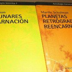 Libros de segunda mano: NODOS LUNARES-PLANETAS RETRÓGRADOS.BIBLIOTECA KÁRMICA I Y II. MARTÍN SHULMAN.. Lote 54870531