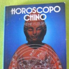 Libros de segunda mano - HOROSCOPO CHINO _ RENE FLEURY - 56626900