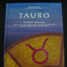 Libros de segunda mano: TAURO. COSTANZA CARAGLIO. EDITORIAL DE VECCHI TAPA DURA.. Lote 56932435