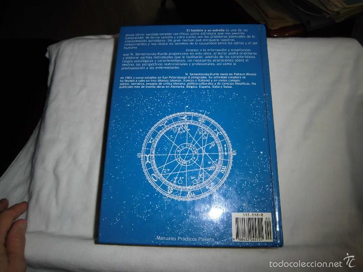 Libros de segunda mano: EL HOMBRE Y SU ESTRELLA.-N.SEMENTOVSKY-KURILO.-EDITORIAL PLANETA 1989.-4ª EDICION - Foto 8 - 56978490