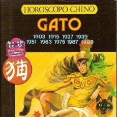 Libros de segunda mano - HOROSCOPO CHINO GATO - IBERLIBRO - 57976588