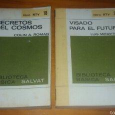 Libros de segunda mano: LOTE 2 LIBROS SECRETOS DEL COSMOS Y VISADO PARA EL FUTURO. Lote 58570218