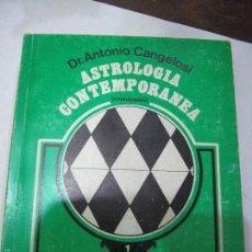 Libros de segunda mano: ASTROLOGÍA CONTEMPORANEA. FINALIDADES. ANTONIO CANGELOSI.. Lote 60979931