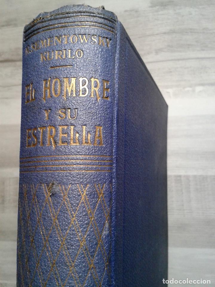 EL HOMBRE Y SU ESTRELLA (1950). COSMOPSICOLOGÍA, ASTROLOGÍA, HOROSCOPO. MUY ILUSTRADO. (Libros de Segunda Mano - Parapsicología y Esoterismo - Astrología)