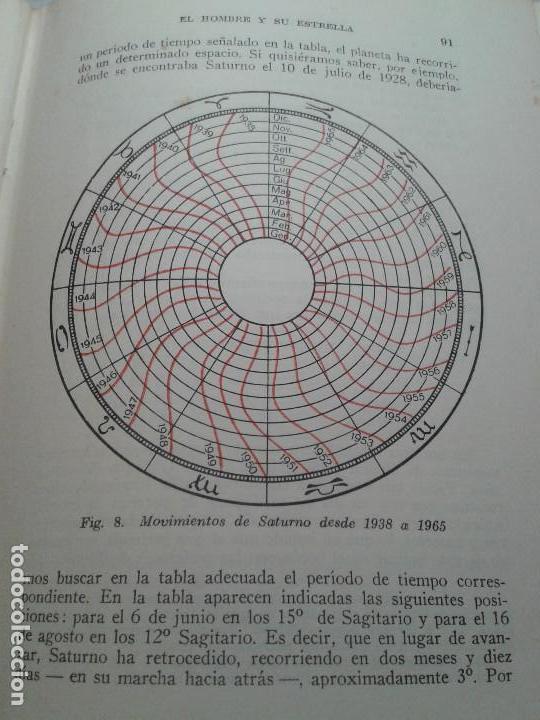 Libros de segunda mano: EL HOMBRE Y SU ESTRELLA (1950). COSMOPSICOLOGÍA, ASTROLOGÍA, HOROSCOPO. MUY ILUSTRADO. - Foto 6 - 66964146