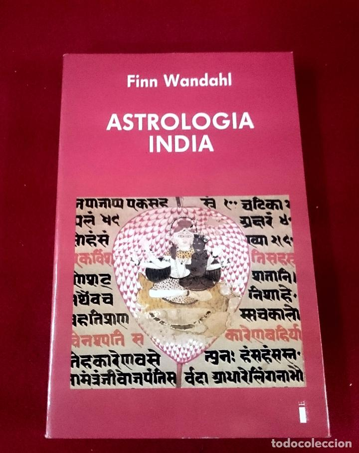ASTROLOGÍA INDIA - FINN WANDAHL (Libros de Segunda Mano - Parapsicología y Esoterismo - Astrología)