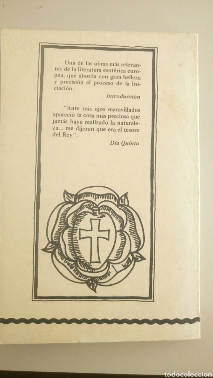 Libros de segunda mano: Las bodas químicas de Christian Rosenkreutz Primera edición 1980 La Rosa-Cruz. Rosacruces - Foto 2 - 72366193