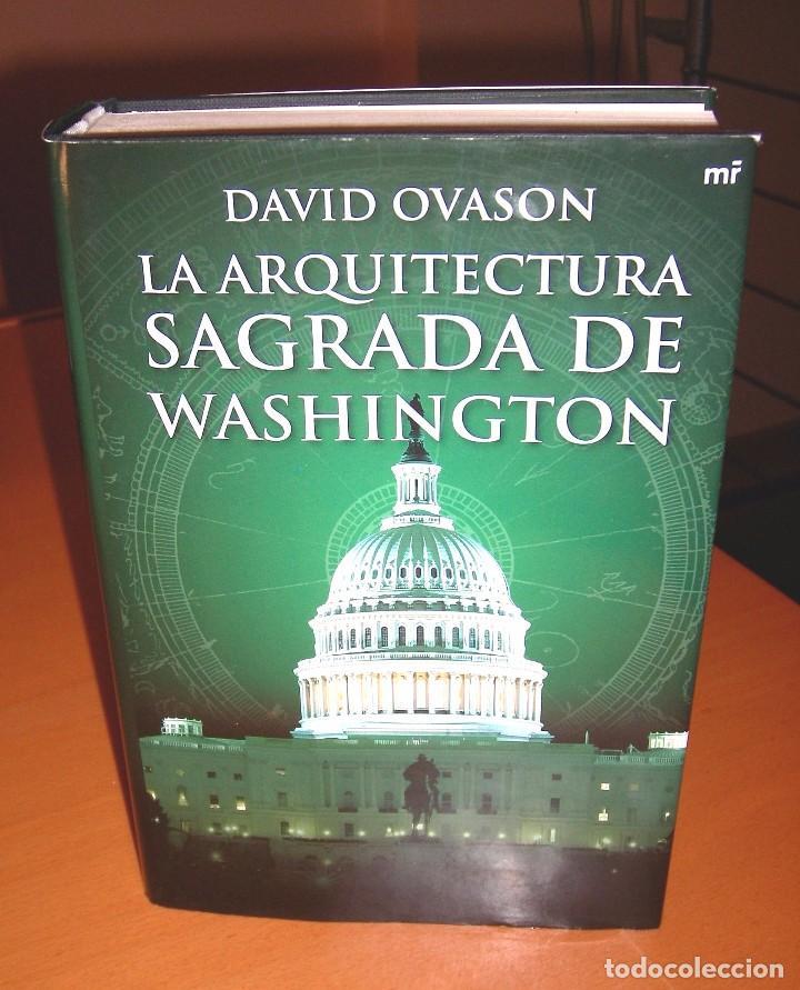 Libros de segunda mano: La arquitectura sagrada de Washington. - Foto 2 - 82211664