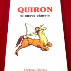 Libros de segunda mano: QUIRON EL NUEVO PLANETA. Lote 82533876
