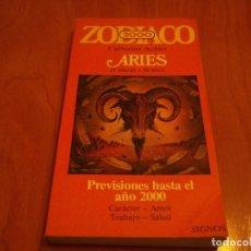 Libros de segunda mano - LIBRO ZODIACO 2000 ARIES CATHERINE AUBIER 21 MARZO - 21 ABRIL PREVISIONES HASTA EL 2000 AÑO 1982 - 88192168