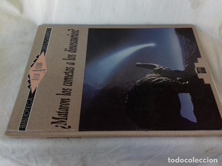 ¿MATARON LOS COMETAS A LOS DINOSAURIOS?-ISAAC ASIMOV. BIBLIOTECA DEL UNIVERSO 4-EDICIONES SM 1989 (Libros de Segunda Mano - Parapsicología y Esoterismo - Astrología)