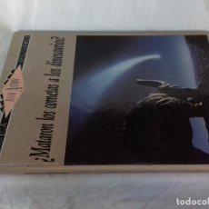 Libros de segunda mano: ¿MATARON LOS COMETAS A LOS DINOSAURIOS?-ISAAC ASIMOV. BIBLIOTECA DEL UNIVERSO 4-EDICIONES SM 1989. Lote 97882023