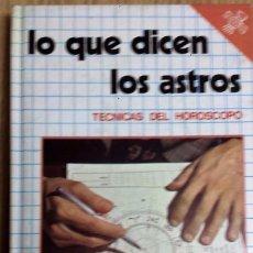 Libros de segunda mano: LO QUE DICEN LOS ASTROS * DAIMON MANUEL TAMAYO. Lote 97895463