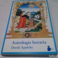 Libri di seconda mano: ASTROLOGÍA HORARIA - DEREK APPLEBY. Lote 105030251