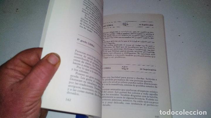 Libros de segunda mano: EL HOROSCOPO SEGUN EL DIA DE NACIMIENTO-MARTA CARRERAS / EDITORIAL DE VECCHI 1988 - Foto 6 - 105847763