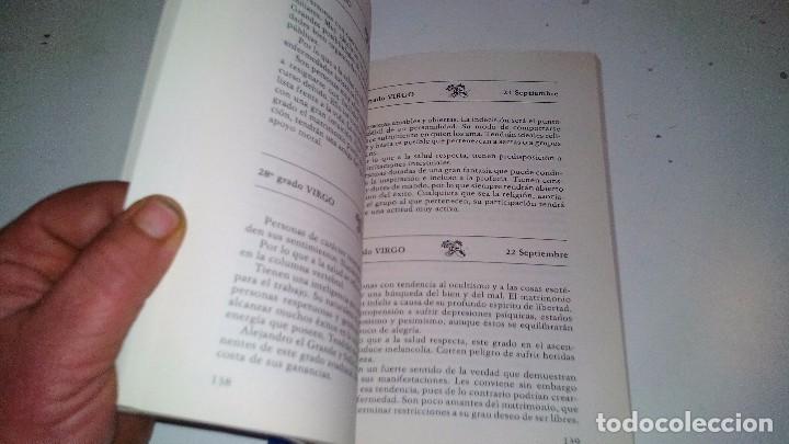 Libros de segunda mano: EL HOROSCOPO SEGUN EL DIA DE NACIMIENTO-MARTA CARRERAS / EDITORIAL DE VECCHI 1988 - Foto 7 - 105847763
