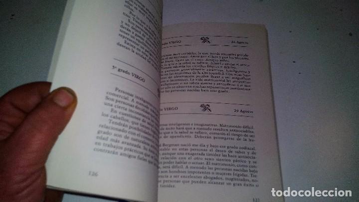 Libros de segunda mano: EL HOROSCOPO SEGUN EL DIA DE NACIMIENTO-MARTA CARRERAS / EDITORIAL DE VECCHI 1988 - Foto 8 - 105847763