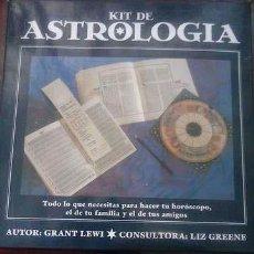 Libros de segunda mano: KIT DE ASTROLOGIA. - AUTOR- GRANT LEWI. Lote 112109227