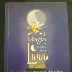Libros de segunda mano: MAGIA Y RITUALES DE LA LUNA - EDAIN MCCOY - LIBRO MUY RARO. Lote 112789067