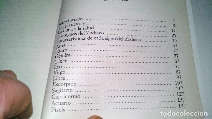 Libros de segunda mano: LOS ASTROS Y LA SALUD-EL FUTURO EN TUS MANOS-BIBLIOTECA PRACTICA-EDICIONES BSA - Foto 5 - 113523471