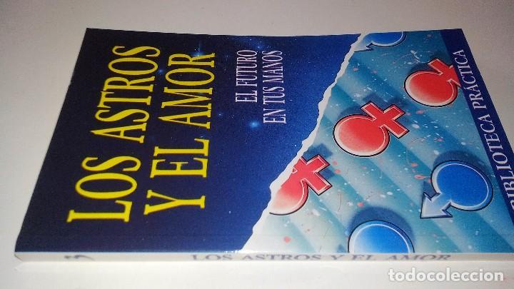 LOS ASTROS Y EL AMOR-EL FUTURO EN TUS MANOS-BIBLIOTECA PRACTICA-EDICIONES BSA (Libros de Segunda Mano - Parapsicología y Esoterismo - Astrología)