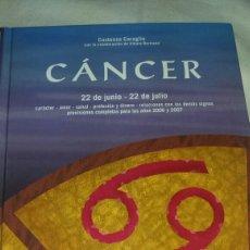 Libros de segunda mano: LIBRO DEL SÍMBOLO ZODIACAL DE CÁNCER. Lote 113851056