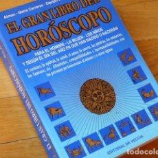 Libros de segunda mano: EL GRAN LIBRO DEL HORÓSCOPO - ATMAN, MARTA CARRERAS, ÓMICRON - DE VECCHI 1996. Lote 114236627