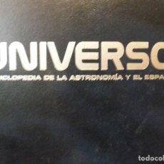 Libros de segunda mano: EL UNIVERSO ENCICLOPEDIA DE LA ASTRONOMÍA Y EL ESPACIO, PLANETA DE AGOSTINI. TMO 1 Y 2.. Lote 115290927