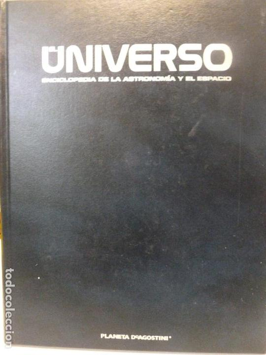 Libros de segunda mano: EL UNIVERSO ENCICLOPEDIA DE LA ASTRONOMÍA Y EL ESPACIO, PLANETA DE AGOSTINI. TMO 1 Y 2. - Foto 3 - 115290927