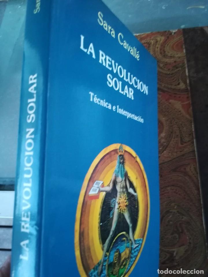 Libros de segunda mano: LA REVOLUCION SOLAR-TECNICA E INTERPRETACION-SARA CAVALLE-EDIC. OBELISCO.1ª EDI 1990 - Foto 2 - 117958815