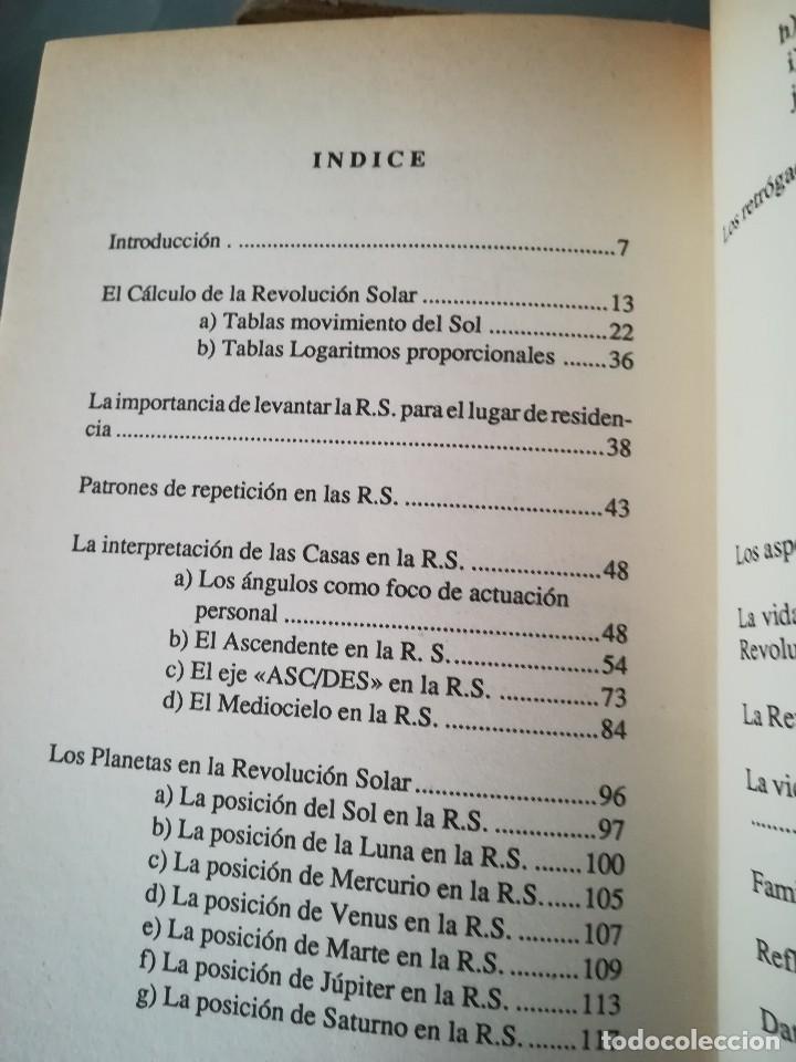 Libros de segunda mano: LA REVOLUCION SOLAR-TECNICA E INTERPRETACION-SARA CAVALLE-EDIC. OBELISCO.1ª EDI 1990 - Foto 11 - 117958815