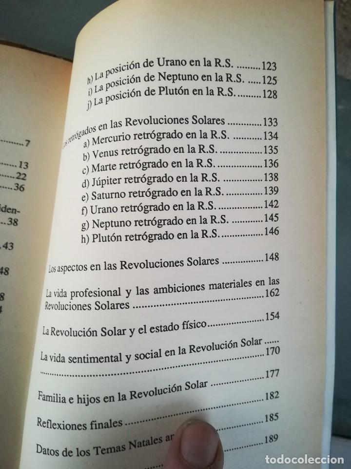 Libros de segunda mano: LA REVOLUCION SOLAR-TECNICA E INTERPRETACION-SARA CAVALLE-EDIC. OBELISCO.1ª EDI 1990 - Foto 12 - 117958815
