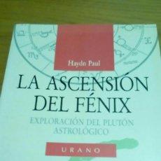 Libros de segunda mano: LA ASCENSIÓN DEL FÉNIX, EXPLORACIÓN DEL PLUTÓN ASTROLOGÍCO, HAYND PAUL. Lote 194403801