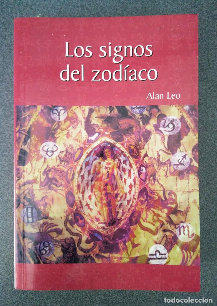 LOS SIGNOS DEL ZODIACO ALAN LEO (Libros de Segunda Mano - Parapsicología y Esoterismo - Astrología)