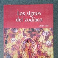 Libros de segunda mano: LOS SIGNOS DEL ZODIACO ALAN LEO. Lote 119166403