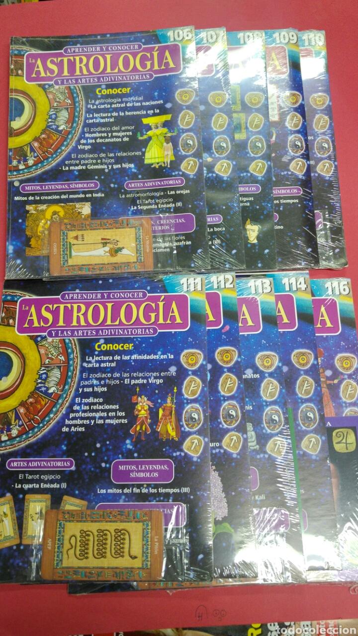 10 FASCÍCULOS APRENDER ASTROLOGIA EDITORIAL SALVAT (Libros de Segunda Mano - Parapsicología y Esoterismo - Astrología)