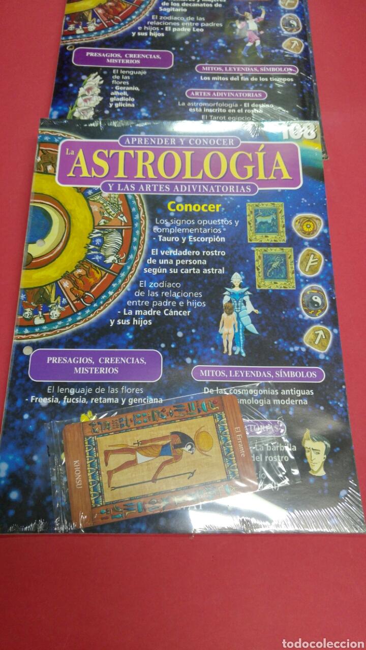 Libros de segunda mano: 10 fascículos aprender ASTROLOGIA editorial SALVAT - Foto 4 - 119701939