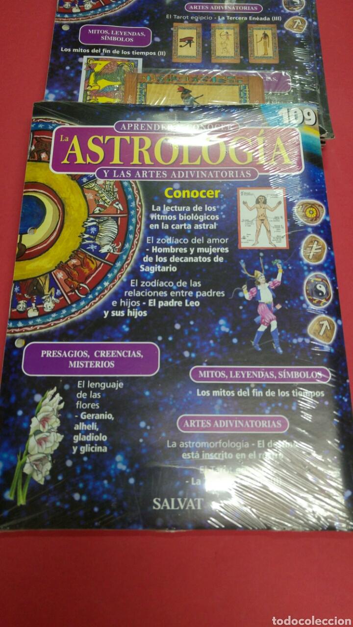 Libros de segunda mano: 10 fascículos aprender ASTROLOGIA editorial SALVAT - Foto 5 - 119701939