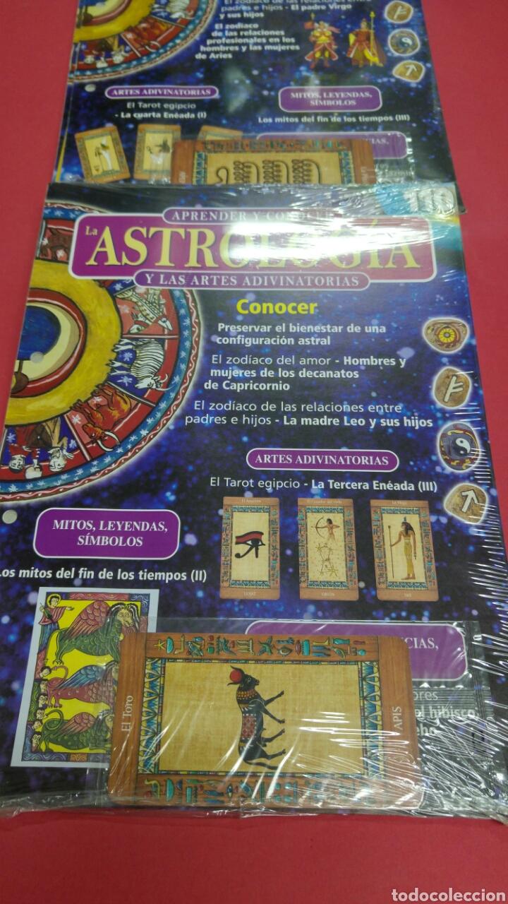 Libros de segunda mano: 10 fascículos aprender ASTROLOGIA editorial SALVAT - Foto 6 - 119701939