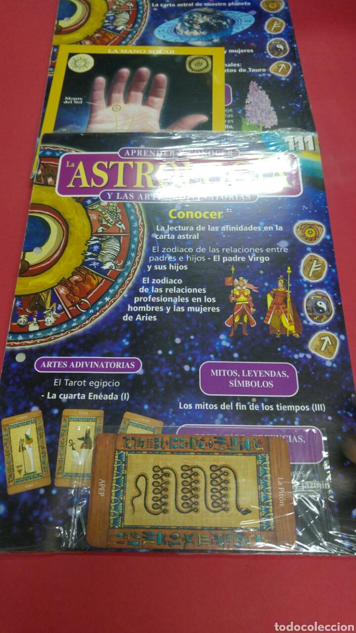 Libros de segunda mano: 10 fascículos aprender ASTROLOGIA editorial SALVAT - Foto 7 - 119701939