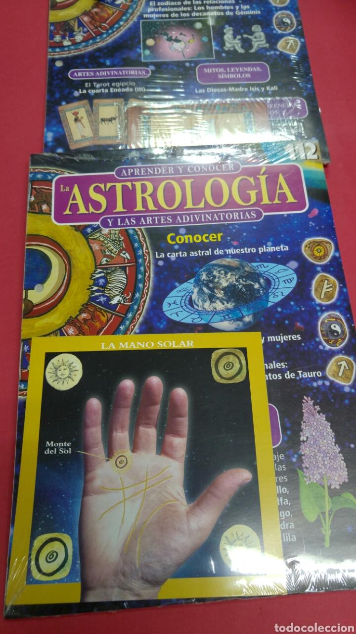 Libros de segunda mano: 10 fascículos aprender ASTROLOGIA editorial SALVAT - Foto 8 - 119701939
