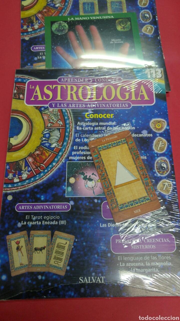 Libros de segunda mano: 10 fascículos aprender ASTROLOGIA editorial SALVAT - Foto 9 - 119701939